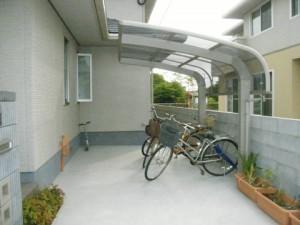 M様邸完成サイクルポート